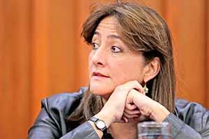 Ángela Buitrago, integrante del GIEI
